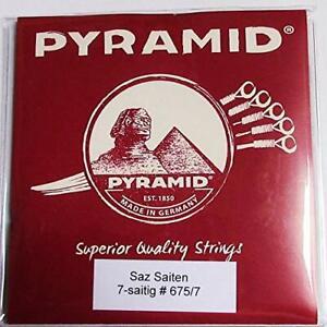 Pyramid 7- strings Saz Baglama Strings (Long Neck)