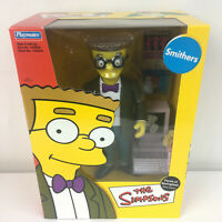 The Simpsons Smithers Faces of Springfiel 8 Inch Figure 2002 Playmates NIP NEW