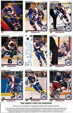 1990-91 UD Upper Deck Winnipeg Jets Complete Team Set (22)
