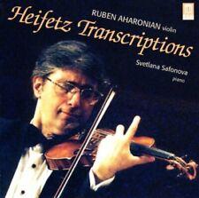 Jascha Heifetz - Heifetz Transcriptions (Aharonian, Svetlana Safonova) [CD]