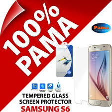 Pama Tempered Glass Screen Protector Guard Film for Samsung Galaxy S6