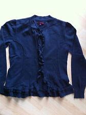 Tom Tailor Denim Damen Cardigan Strickjacke blau Gr. XL