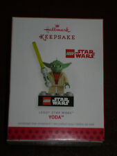 NIB HALLMARK ORNAMENT 2013 LEGO STAR WARS YODA Series Keepsake