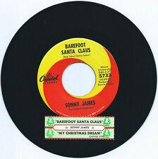 SONNY JAMES -1966 - BAREFOOD SANTA CLAUS / MY CHRISTMAS DREAM - JUKE BOX TITLE