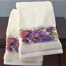 Hand Towels For Bathroom Guest Decor Ideas Decorative Bold Colorful Floral Set