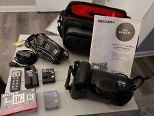 Sharp ViewCam VL-E37U Liquid Crystal Video Camera 8 NTSC w Case WORKING, CLEAN