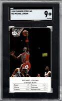 1988 Fournier Estrellas #22 Michael Jordan Chicago Bulls HOF MINT SGC 9 NIKE AIR