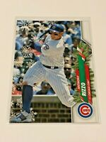 2020 Topps Walmart Holiday Baseball HW132 - Anthony Rizzo - Chicago Cubs
