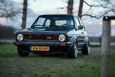 VW Golf 1 GTI | G60 | 265 pk | Borbet | KW | 1983 | 1984 | Supersprint | Perfect
