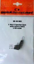 Quickboost 1/48 F-15A/C Eagle Siège Éjectable avec ceintures de sécurité # 48003