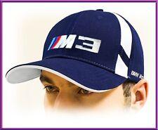 BMW 3M Casquette de baseball - Bleu! 100% coton !!! Taille réglable! Unisexe!!!