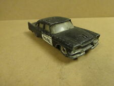 VINTAGE DINKY TOYS MADE IN ENGLAND / DODGE ROYAL SEDAN POLICE