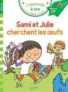 Sami et Julie cherchent les oeufs de Paques Français Apprendre Lire CP Niveau 2