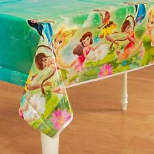 Disney Tinkerbell & Fairies Plastic Table Cover Party Tablecloth Tinker Birthday