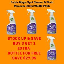 Fabric Magic Spot Cleaner Stain Remover 500ml Value Pack Buy 3 Get 1 Extra FREE