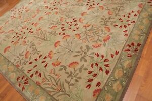 Old Hand Made Traditional Nain Parsian Zieglar Oriental Wool Area Rug 152x244 cm