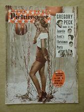 PICTUREGOER 1954 DEC 25 SHIRLEY EATON GREGORY PECK BOB MONKHOUSE BENNY HILL