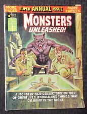 1975 MONSTERS UNLEASHED Annual Magazine #1 GD+ 2.5 Tuska Perlin Colan