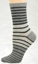 Sierra Socks Women's Striped Cotton Socks Size 9-11 W87