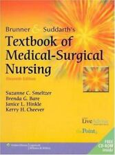 Brunner and Suddarth's Textbook of Medical-Surgical Nursing, 11th Edition (2…