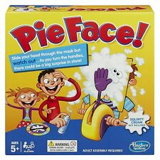 Pie Face Board Family Fun Toys Rocket Modern Game Halloween Xmas Kid Gift UK NEW