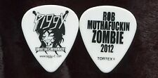 ROB ZOMBIE 2012 Twins Of Evil Tour Guitar Pick!!! PIGGY D. custom concert stage