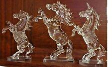 Decorative Crystal Ornament Horse Unicorn Glass Statue Figurine with Gift Box