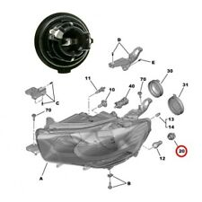 Genuine indicator bulb holder Renault Laguna II Clio III 7701061695