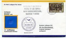 FFC 1973 Lufthansa First Flight LH 177 Barcelona Symposio Directores Financieros