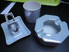 Ensemble Cendriers Porcelaine