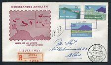 Nederlandse Antillen FDC E2 _ 2 M, met adres ;