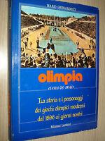 Book Olimpia Love My Mario Galat Editions Landoni 1984
