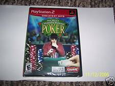 World Championship Poker (PlayStation 2) new PS2