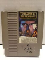 Wizards & Warriors III 3 Nintendo Entertainment System NES Cart Only with Sleeve