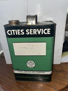 CITIES SERVICE 1 GALLON  CAN