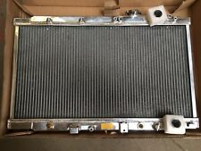 HONDA INTEGRA DC2 DC4 93-01 AUTO/MANUAL POLISHED ALLOY RADIATOR, 40MM 2 ROW