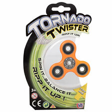 Tornado Twister Finger Fidget Spinners, Toys & Games, One Colour sent at random