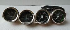 "Smiths Replica 52 mm 2 1/16""  -Temp +Oil + Fuel + Amp Gauge kit"