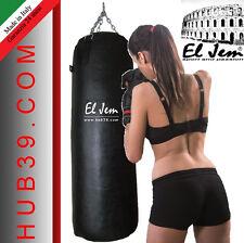 SACCO BOXE  40KG EL JEM SACCO BOXE PIENO  KICKBOXING MMA FATTO IN ITALIA