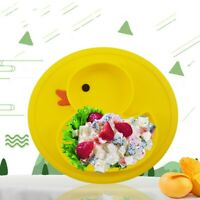 Non-Slip Silicone Mat Baby Kid Children Suction Table Food Tray Placemat Plate