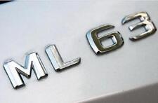 E812 ML 63 Emblem Badge auto aufkleber Schriftzug car Sticker Chrom M 63