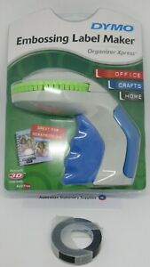 Dymo Xpress Embossing Label Maker express with + EXTRA 1 x  Black tape in stock