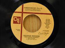 George Benson 45 Summertime / Part 1&2 ~ CTI VG++ Jazz