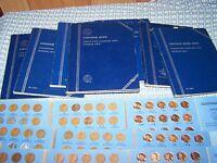 COMPLETE LINCOLN WHEAT 1941-1958 + UNC MEMORIAL 1959-1974 P,D,S MINT CENT PENNY