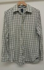 Gap Blue Shirt Size M Check <J2754
