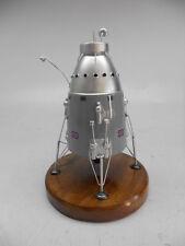 BIS Moon Lander British US Spacecraft Mahogany Kiln Dry Wood Model Large New