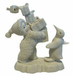 """Dept 56 Snowbabies Figurine """"I Have Lots To Give"""""""