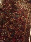sarouk 8 x 12ft oriental rug - handmade, excellent condition - semi-antique
