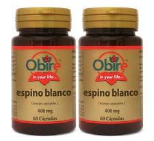 BOB020- ESPINO BLANCO 400 mg. 2x60c. Obire ENVIO24h