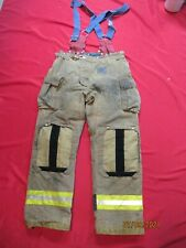 Mfg 2011 Morning Pride 38 X 35 Fire Fighter Turnout Pants Bunker Gear Suspenders